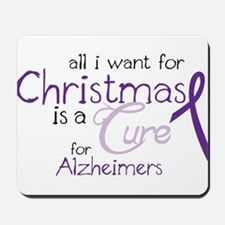 Cure For Alzheimers Mousepad