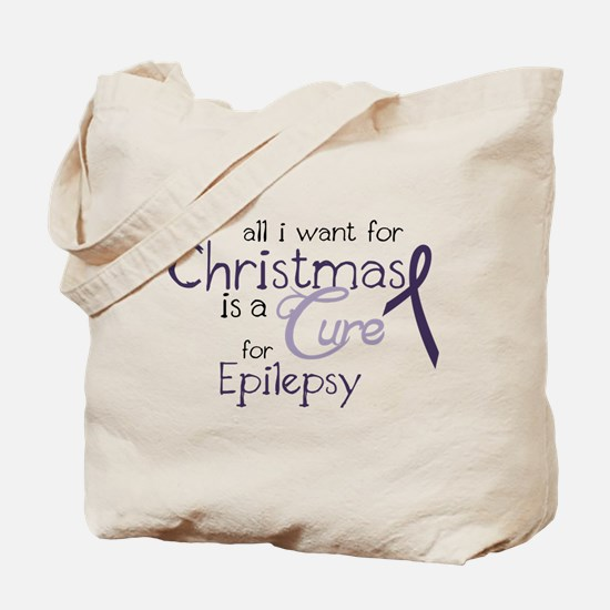 Cure For Epilepsy Tote Bag