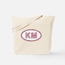 KM Pink Tote Bag