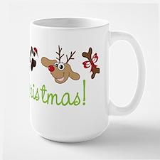 Merry Christmas Large Mug