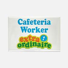Cafeteria Worker Extraordinaire Rectangle Magnet