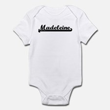 Black jersey: Madeleine Infant Bodysuit