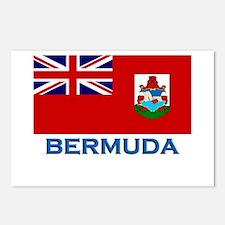 Bermuda Flag Stuff Postcards (Package of 8)