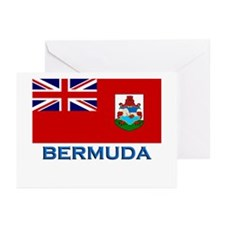 Bermuda Flag Stuff Greeting Cards (Pk of 10)