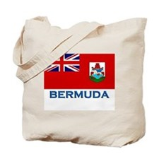 Bermuda Flag Stuff Tote Bag