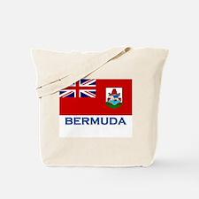 Bermuda Flag Stuff Tote Bag