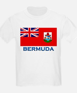 Bermuda Flag Stuff Kids T-Shirt