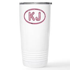 KJ Pink Travel Mug