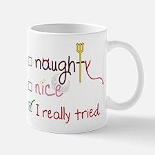 I Really Tried Mug