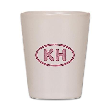 KH Pink Shot Glass