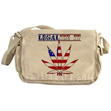 Legalize it America Messenger Bag