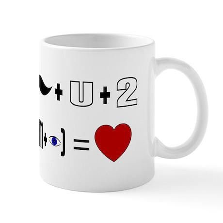 Geek Valentine Algorithm Mug