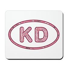 KD Pink Mousepad