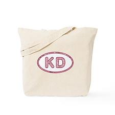 KD Pink Tote Bag