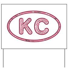 KC Pink Yard Sign