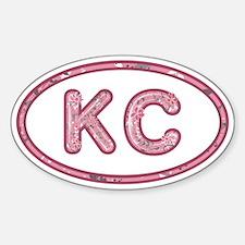 KC Pink Decal