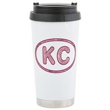 KC Pink Travel Mug