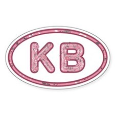 KB Pink Decal