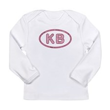 KB Pink Long Sleeve Infant T-Shirt