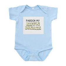 Pardon My Nipple Breath Infant Bodysuit