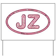 JZ Pink Yard Sign