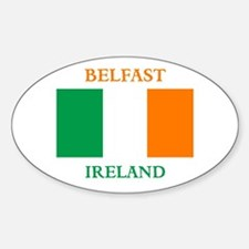 Belfast Ireland Decal