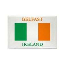 Belfast Ireland Rectangle Magnet (10 pack)