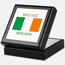 Belfast Ireland Keepsake Box