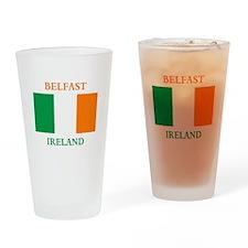Belfast Ireland Drinking Glass