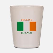 Belfast Ireland Shot Glass