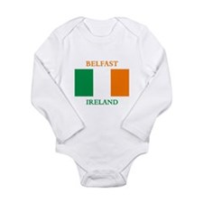 Belfast Ireland Long Sleeve Infant Bodysuit