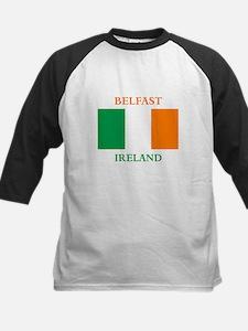 Belfast Ireland Kids Baseball Jersey