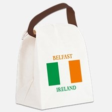 Belfast Ireland Canvas Lunch Bag
