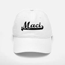 Black jersey: Maci Baseball Baseball Cap