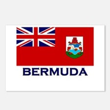 Bermuda Flag Gear Postcards (Package of 8)