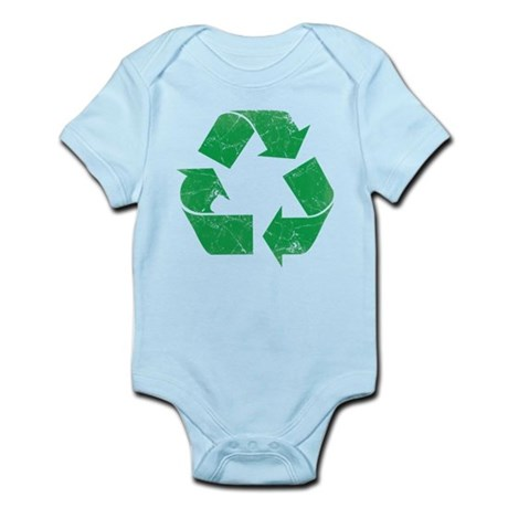 Vintage Recycle Infant Bodysuit