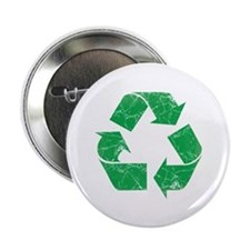 "Vintage Recycle 2.25"" Button"