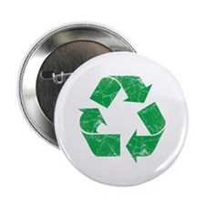 """Vintage Recycle 2.25"""" Button (10 pack)"""