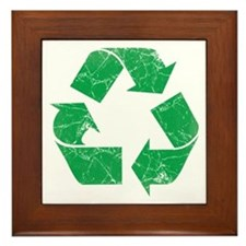 Vintage Recycle Framed Tile