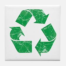 Vintage Recycle Tile Coaster