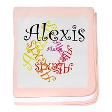 Alexis baby blanket