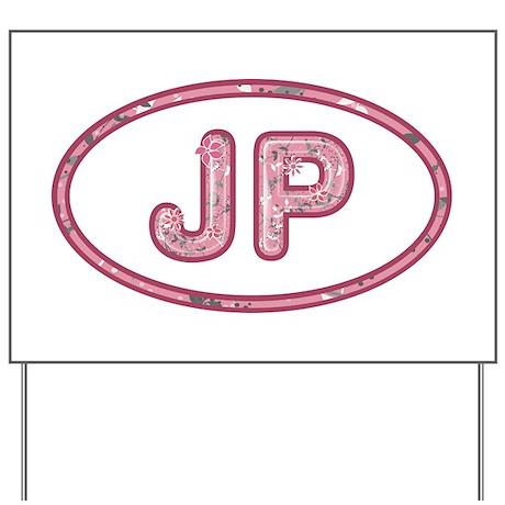 JP Pink Yard Sign