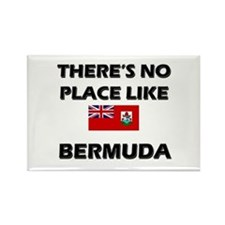There Is No Place Like Bermuda Rectangle Magnet
