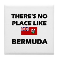There Is No Place Like Bermuda Tile Coaster