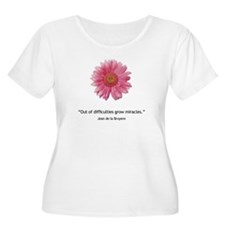 Grow Miracles Plus Size T-Shirt