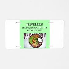 jeweler Aluminum License Plate