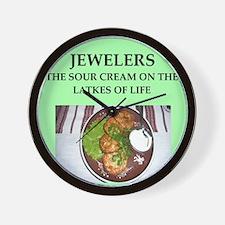 jeweler Wall Clock