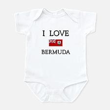 I Love Bermuda Infant Bodysuit