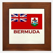 Bermuda Flag Merchandise Framed Tile