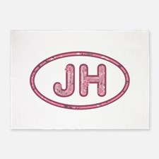 JH Pink 5'x7'Area Rug